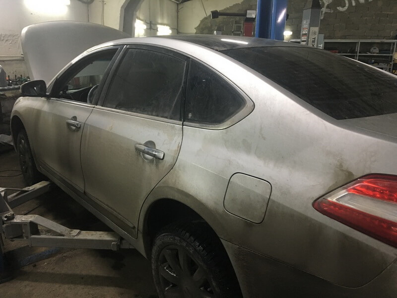 Nissan Teana: техобслуживание и ремонт