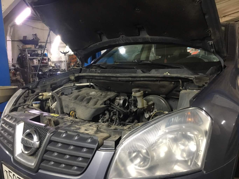 Nissan Qashqai J10 - частичный ремонт CVT