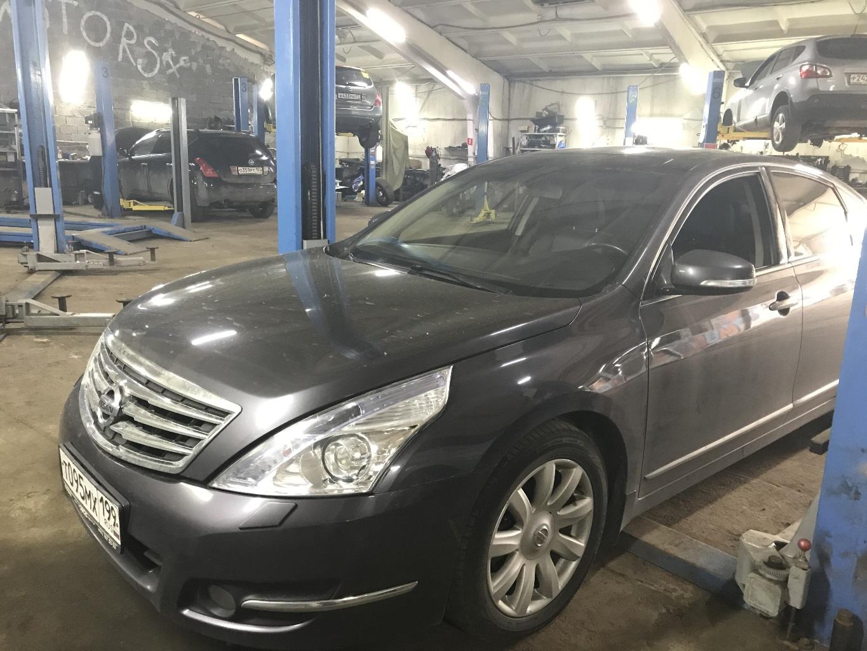 Nissan Teana: техническое обслуживание и ремонт после диагностики