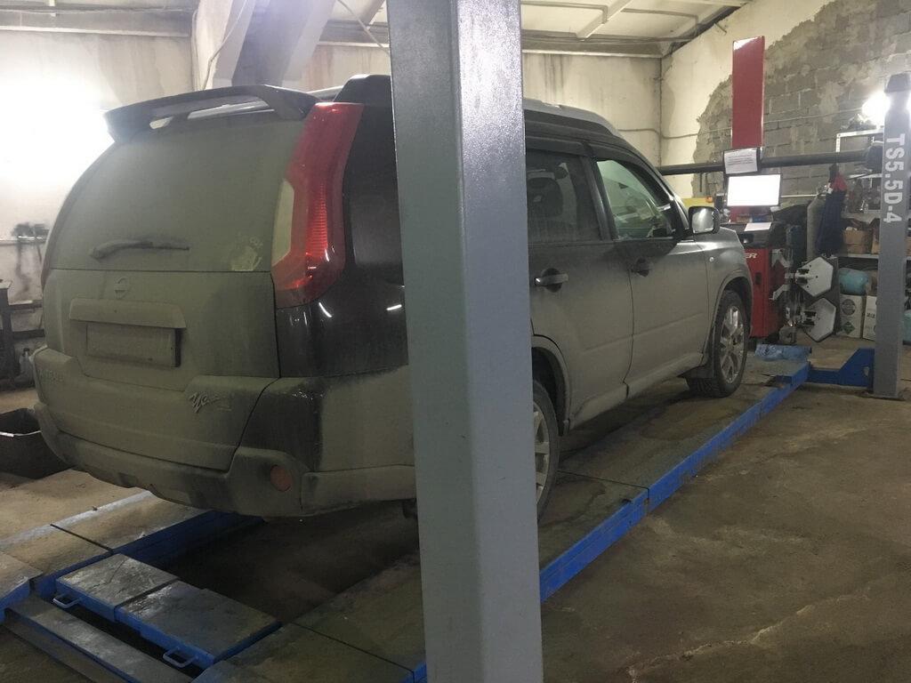 Ремонт ходовой части Nissan X-Trail T31 - основные слабые места