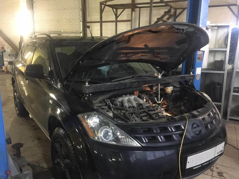 Nissan Murano Z50: ремонт вариатора