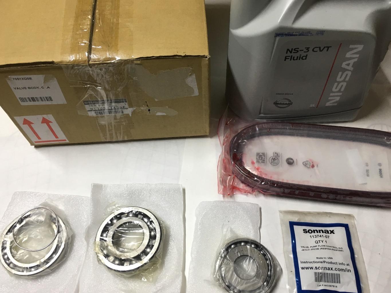 Nissan Murano Z50: капитальный ремонт вариатора – Блог - Фото 5