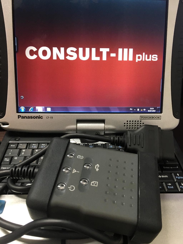 Заказать Диагностический сканер Nissan Consult 3 Plus - Фото 1