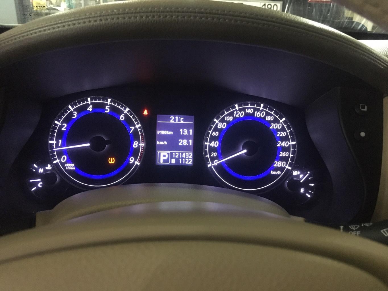 Заказать Решение проблемы с завышением показаний уровня топлива на многих Nissan/Infiniti (Infiniti QX50) - Фото 1