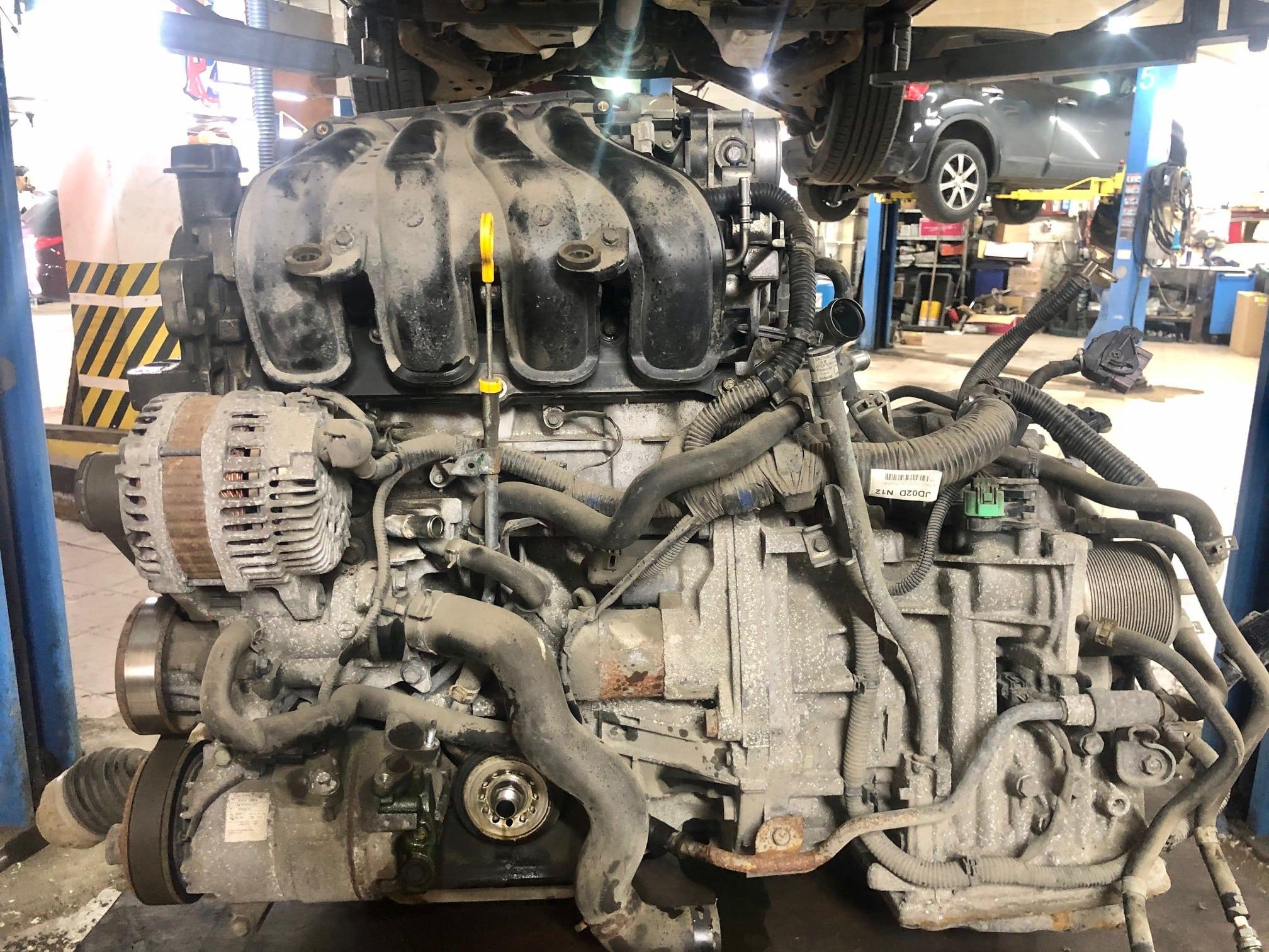 Заказать Nissan Qashqai J10: дефектовка ДВС - Фото 1