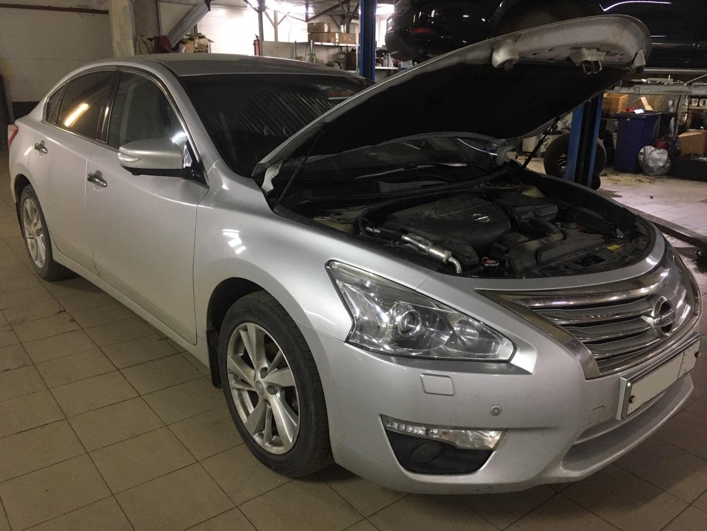 Заказать Nissan Teana L33: капитальный ремонт двигателя - Фото 1