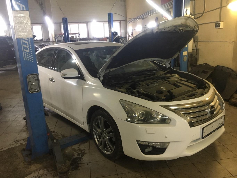 Заказать Nissan Teana L33: диагностика вариатора и замена гидроблока - Фото 1