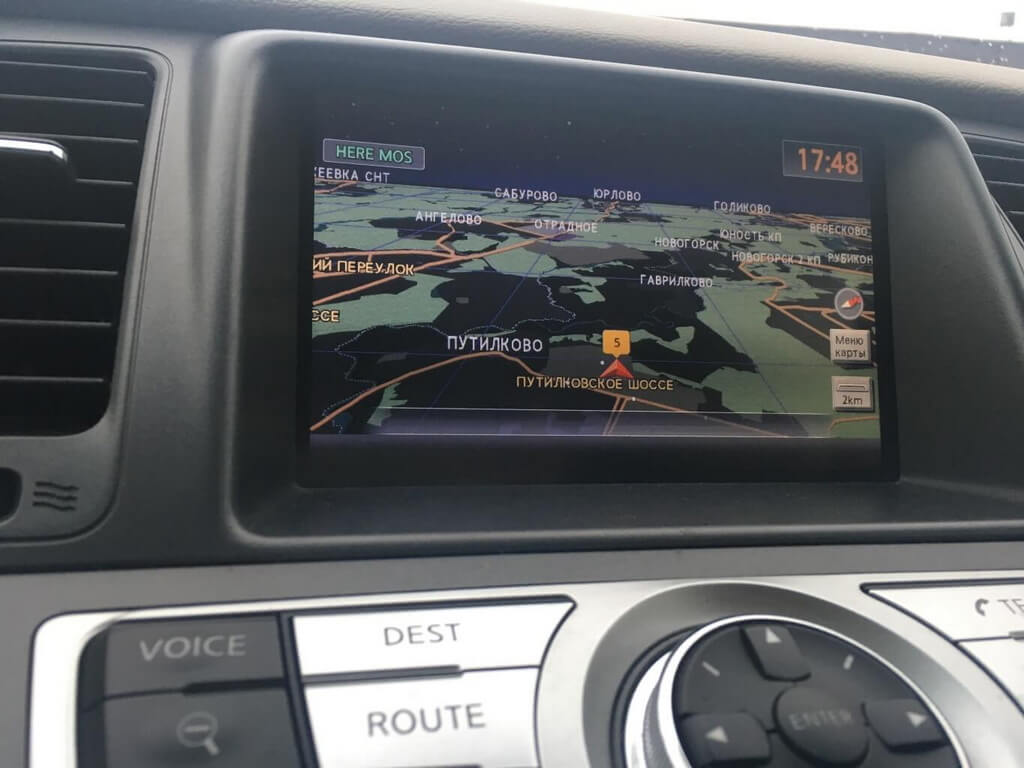 Заказать Обновление навигации на Nissan/Infiniti с ГУ 08IT - Фото 8