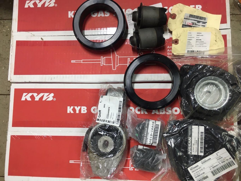 Заказать Nissan Pathinder R52: ремонт ходовой - Фото 1