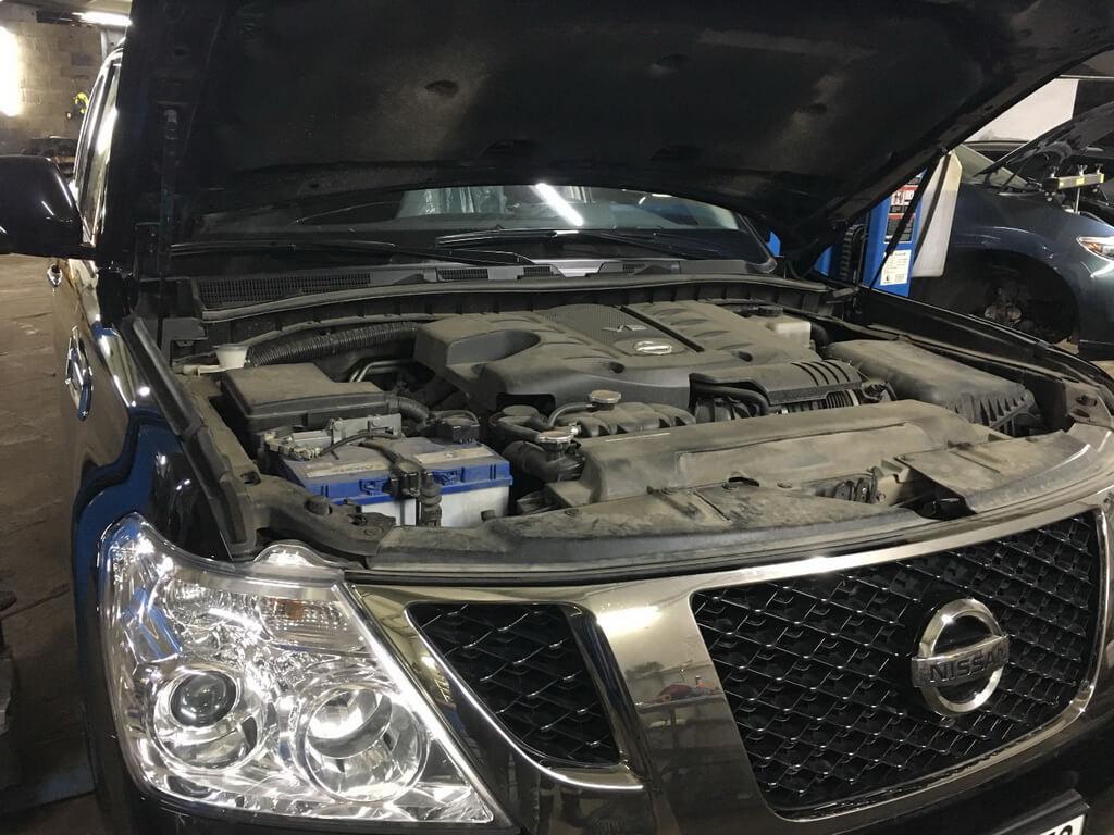 Заказать ТО-60 000 на Nissan Patrol Y62 - Фото 1