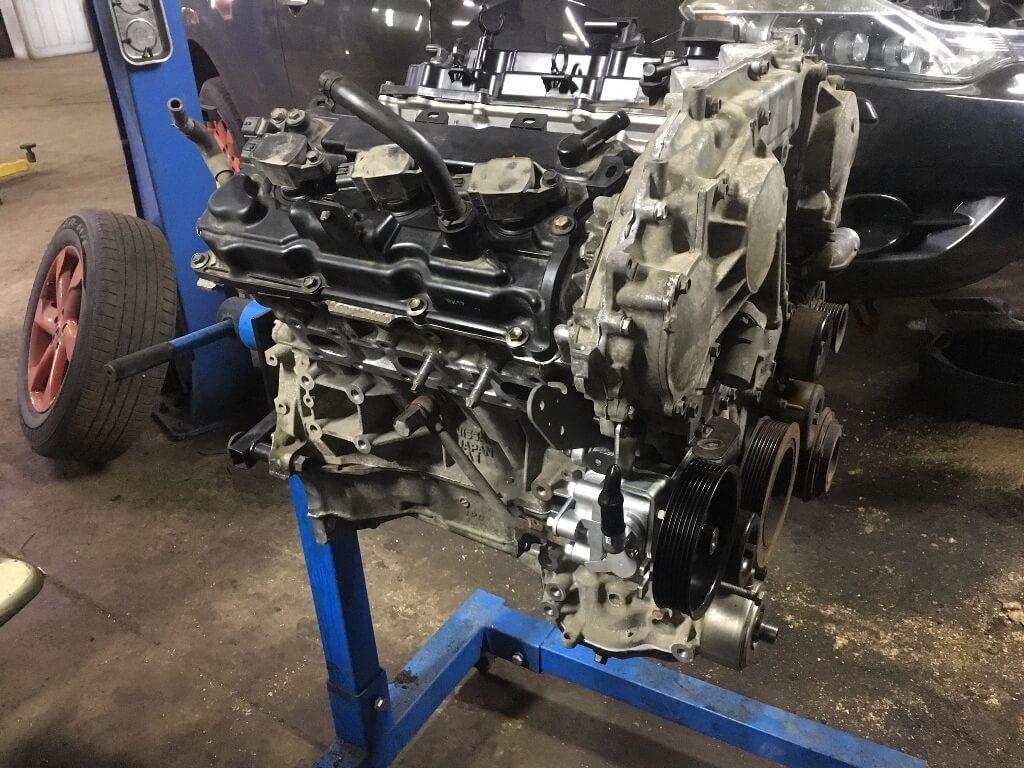 Nissan Murano Z51: решение проблемы с двигателем – Блог
