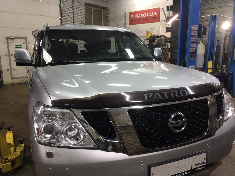Заказать Установка омывателя камеры заднего вида на Nissan Patrol Y62 - Фото 1