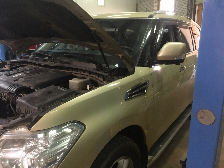 Заказать Nissan Patrol Y62: капитальный ремонт ДВС - Фото 1