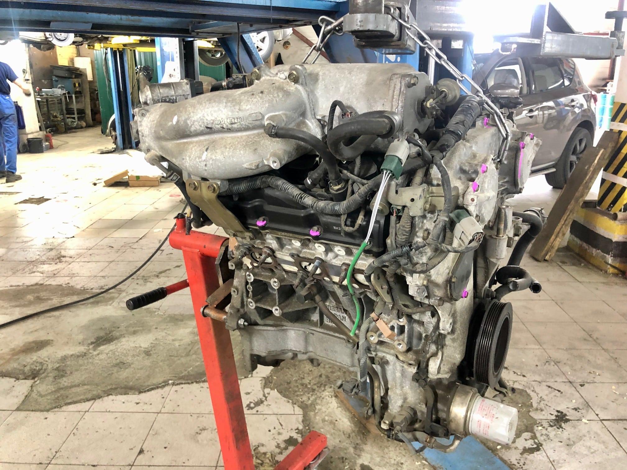 Заказать Nissan Murano Z50: замена ДВС - Фото 1