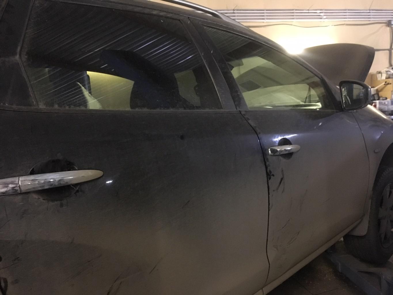 Заказать Nissan Murano Z51: устранение течи масла из CVT - Фото 1