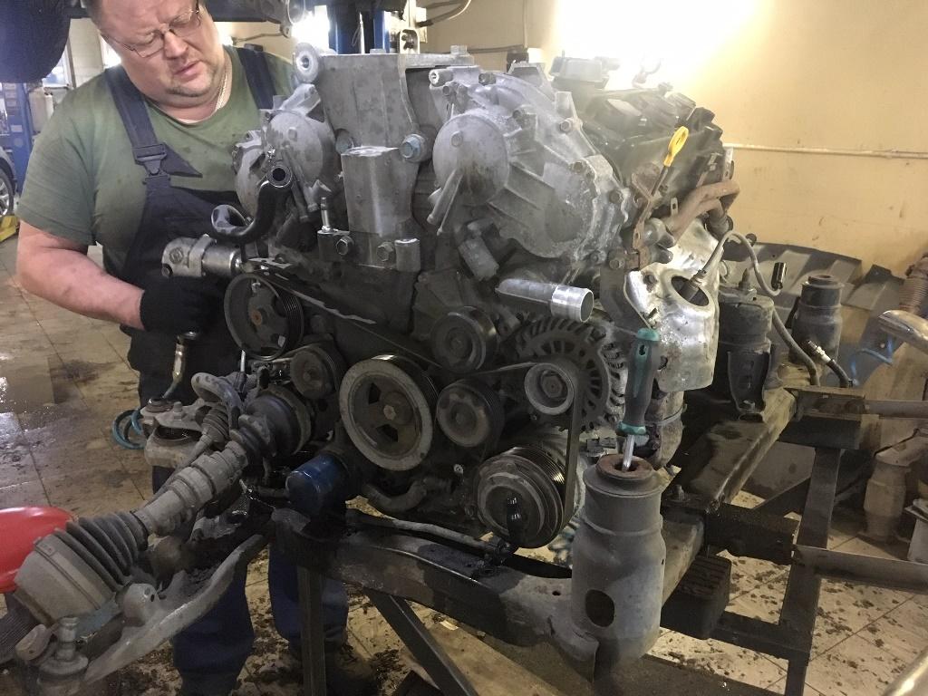 Заказать Nissan Murano Z51: частичный ремонт двигателя - Фото 2