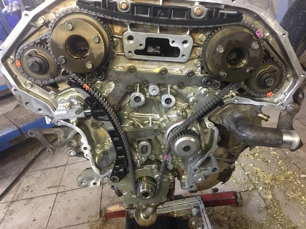 Заказать Nissan Murano Z51: частичный ремонт двигателя - Фото 8