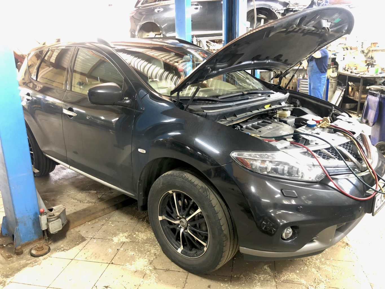 Заказать Nissan Murano Z51: ремонт муфты компрессора кондиционера - Фото 1